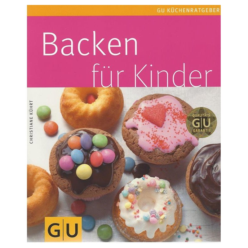 backen f r kinder taschenbuch 6 50. Black Bedroom Furniture Sets. Home Design Ideas