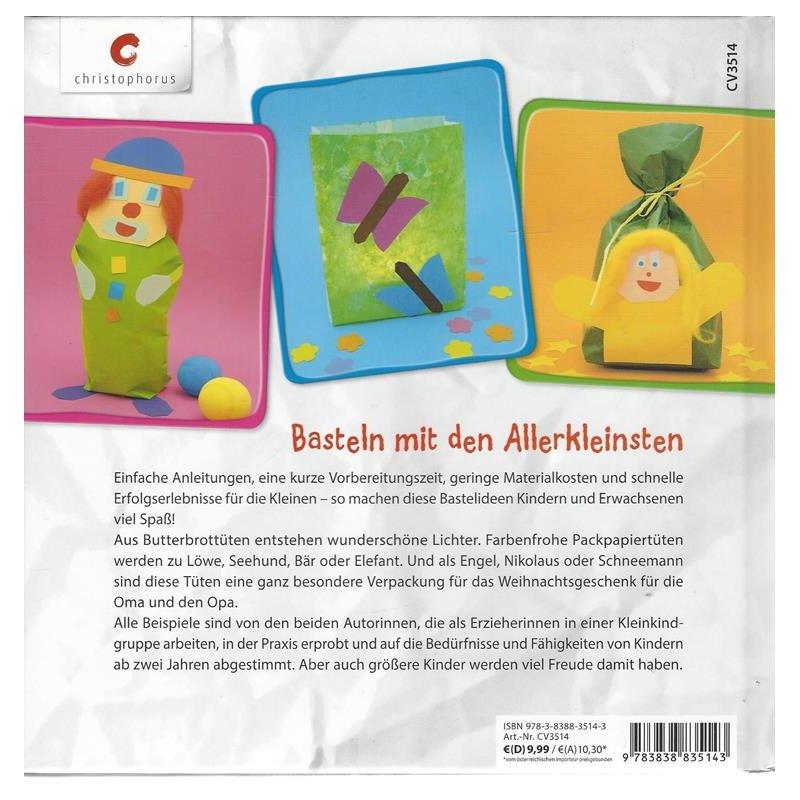Für Kleine Hände Basteln Mit Tüten Für Kinder Ab 2 Jahren 410