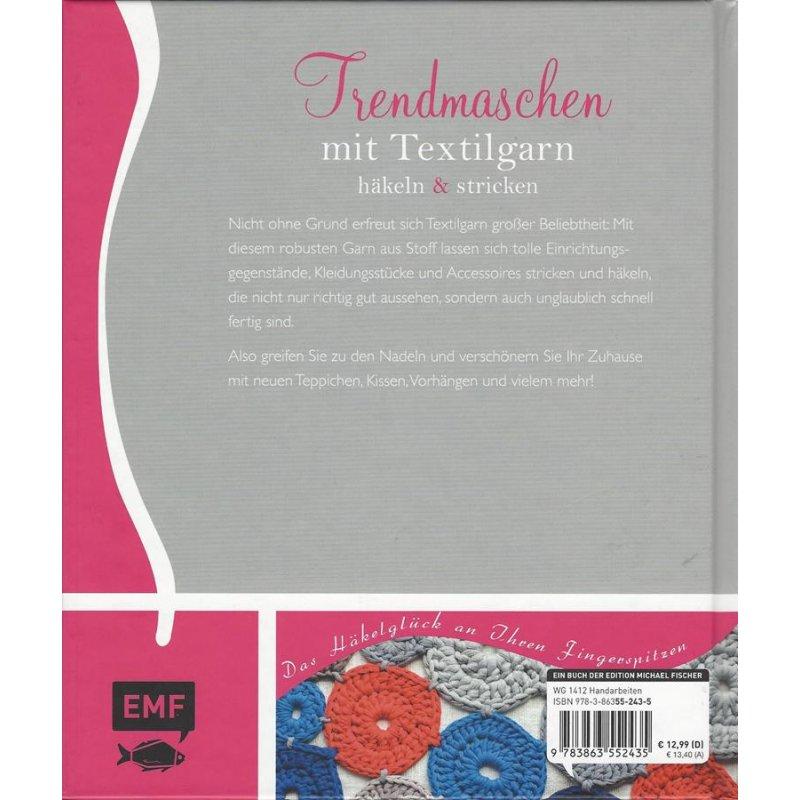 Trendmaschen Mit Textilgarn Hooked Zpaghetti Häkeln Stricken