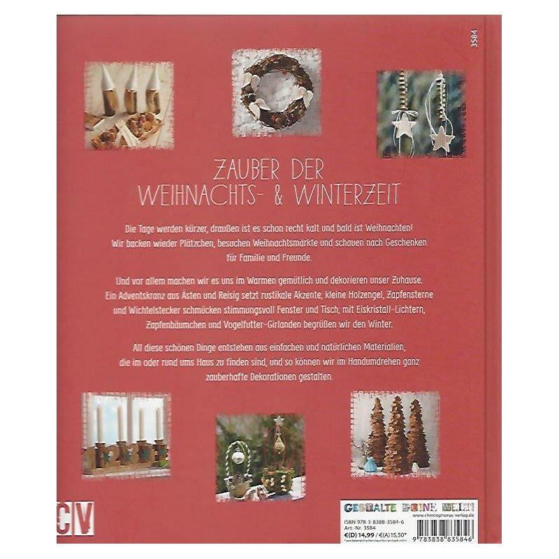 weihnachtsdeko aus der natur ideen zum selbermachen geb ausgabe m n 8 20. Black Bedroom Furniture Sets. Home Design Ideas
