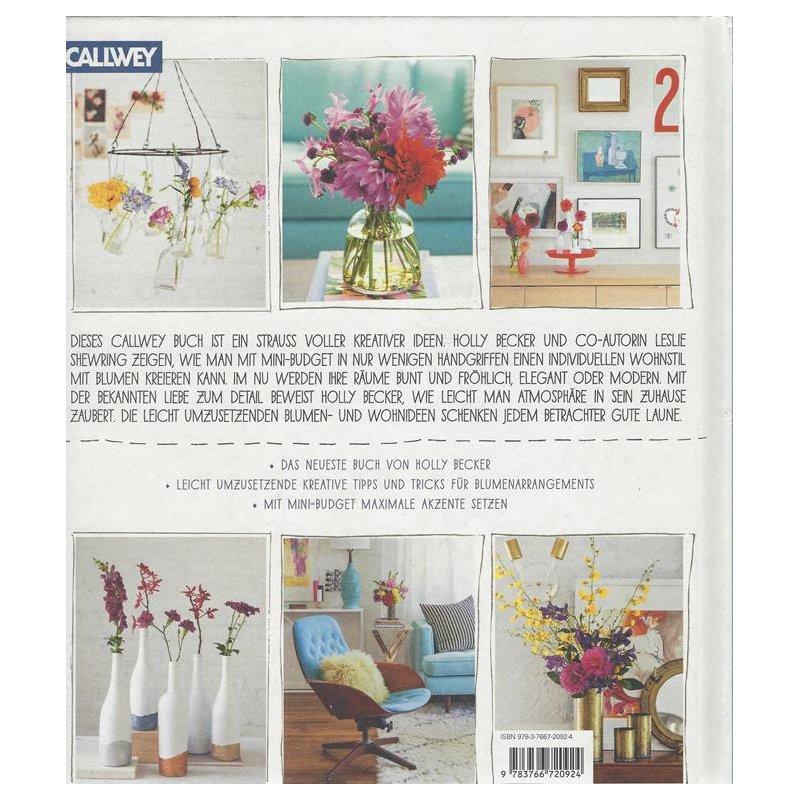 Wohnen mit Blumen: Kreative Ideen für Zuhause Gebundene Ausgabe, 11,95 €