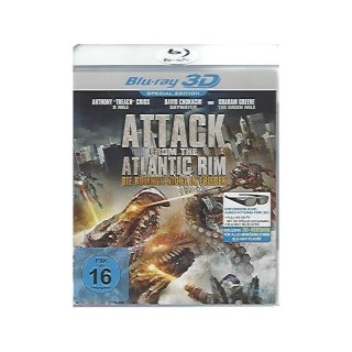 Attack From The Atlantic Rim - 3D Blu-ray