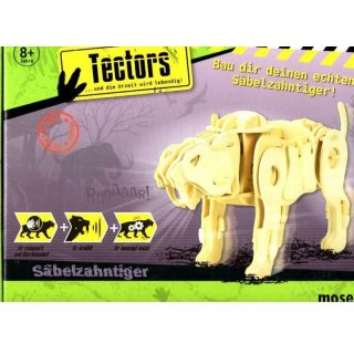 Moses 40182 - 3D PuzzleTector Säbelzahntiger