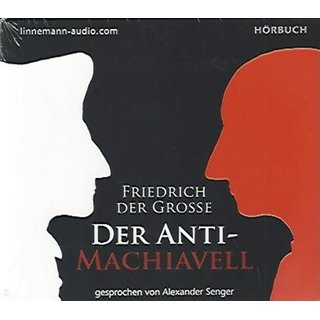 Der Antimachiavell Audio-CD ? Audiobook, CD