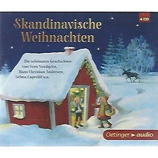 Hörbuch Weihnachten.Skandinavische Weihnachten 4 Cd Audio Cd Hörbuch Mängelexemplar